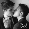 doloresl: (kissy men)