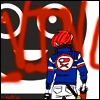 turlough: Party Poison in front of grafitti, art by askpoison ((mcr art) art is the weapon)