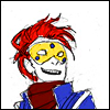 turlough: Party Poison looking happy and cocky, art by askpoison ((mcr art) look alive sunshine)