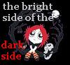 mergatrude: ruby gloom, text = bright side of the dark side (ruby gloom - bright side)