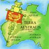sqbr: Asterix-like magnifying glass over Perth, Western Australia (australia)