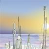 sqbr: Alien city skyline (atlantis)