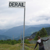 sqbr: A sign saying derail (derail)