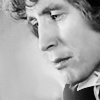 kindkit: Eighth Doctor in profile, looking moody (Doctor Who: Eight profile b&w)