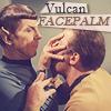 aphelant: (st:tos - vulcan facepalm)