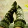 hermitsoul: green socks icon (* green sock: hermitsoul)