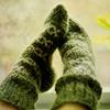 hermitsoul: green socks icon (* green sock: hermitsoul)
