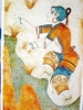minoanmiss: Theran girl gathering saffron (Saffron-Gatherer)