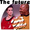 ase: Star Trek / sci-fi icon (Time travel shenanigans)