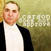 zenlikejen: (downton abbey // carson does not approve)