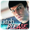 "eleanorjane: Spock looking ""orly""ish (bitch please)"