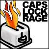 queenmartina: (Caps lock rage!)