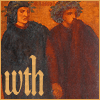 mayhap: Virgil and Dante looking aghast with text wth (what the hell) (what the hell?)