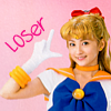 jeweledeyes: Sailor Venus thinks you're a loser (Rapunzel reads)