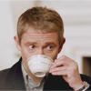 phoenix64: john watson drinking tea (sh john drinking tea)