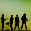 scaramouche: All four members of Queen in silhoutte (queen silhouette)