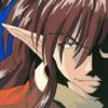 texchan: demon goku smiling (demon goku)