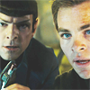 cathexys: Kirk and Spock (new) (kirkandspock (by universeunfolds))