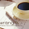 psubrat: (writing - coffee cup - writing)