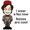 psubrat: (doctor - eleven - fez cartoon)