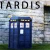 chocolatepot: The TARDIS against a wall (Tardis)