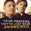 """oconel: SPN """"your prayers have been answered"""" (SPN - Prayers)"""