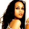 voleuse: glamour shot of zoe saldana (celebrity | zoe saldana)