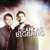 wanderamaranth: (SPN: Dean/Cas Big Bang)