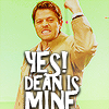 wanderamaranth: (SPN: Dean is Mine!)