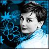 copracat: Audrey Hepburn looking over her shoulder (audrey)