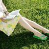 keri: (reading on lawn)