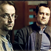 copracat: Rodney and Radek from SGA, with serious business faces (zelenka - nor ever chaste)