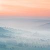 haleskarth: A hazy, orange-and-blue landscape. (Pale landscape.)