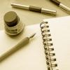 besina_sartor: writing instruments and paper ()