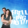 captjamieway: John and Aeryn are frelling hot! (daniel - neck)