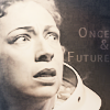 copracat: River from Doctor Who, text: Once & Future (river song)