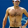 copracat: Roger Federer, shirtless.  (roger)