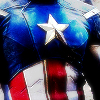 butterfly: Icon of the star on Steve Roger's Captain America uniform. (Avengers - Star-Spangled Man)