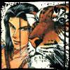 quatorze: Enjouji Kei, from Kizuna artbook (Kei & tiger)