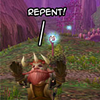 whitereflection: (wow REPENT! gnome ftw)
