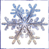 shrift: Picture of a snowflake (snowflake)