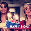 svgurl: (smallville: chloe & lois happy birthday)