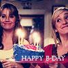 svgurl: (smallville: chloe & lois happy birthday)
