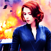 muccamukk: Natasha stands in front of an explosion, looking unconcerned. (Avengers: Badass)