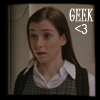 "pne: A picture of Willow Rosenberg, captioned ""Geek <3"" (Willow geek)"