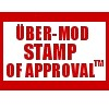 "pne: Text: ""über-mod stamp of approval(TM)"" (über-mod stamp of approval)"