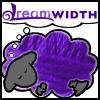 sofiaviolet: Dreamsheep with purple yarn fleece (yarn sheep)