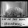 moropus: brain in jar (abynormal)