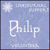 "pne: Caption: ""Philip. Volunteer, LiveJournal Support"" (winter)"