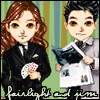 tiferet: Jim Profit and Fairlight candybar doll icon (Jim and Fairlight)